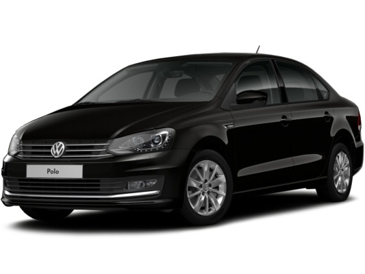 Volkswagen Polo sedan (черный)