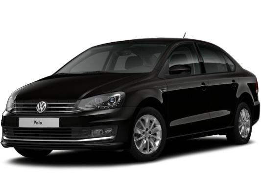 Volkswagen Polo sedan (черный)