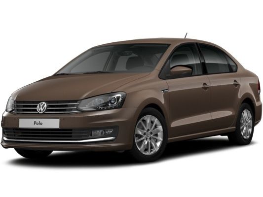 Volkswagen Polo sedan (коричневый Toffee)