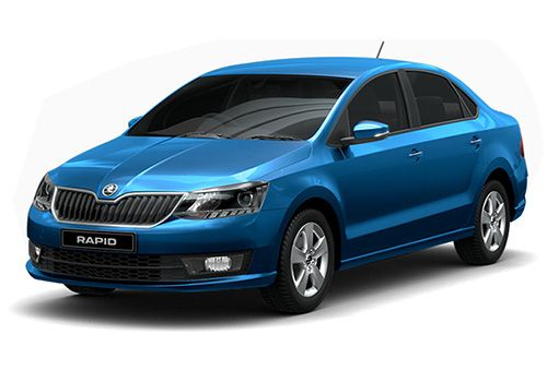 Skoda Rapid (Silk Blue)