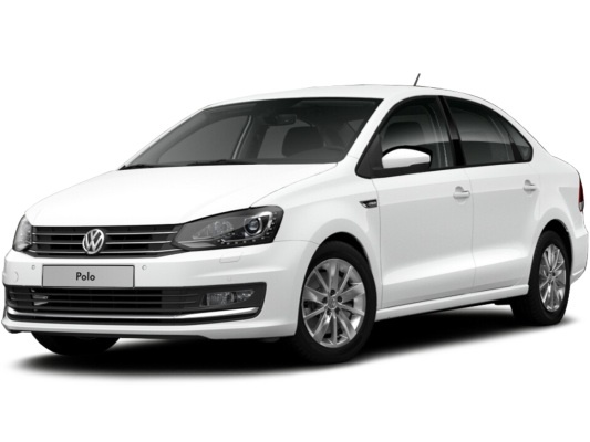 Volkswagen Polo sedan (белый Pure)
