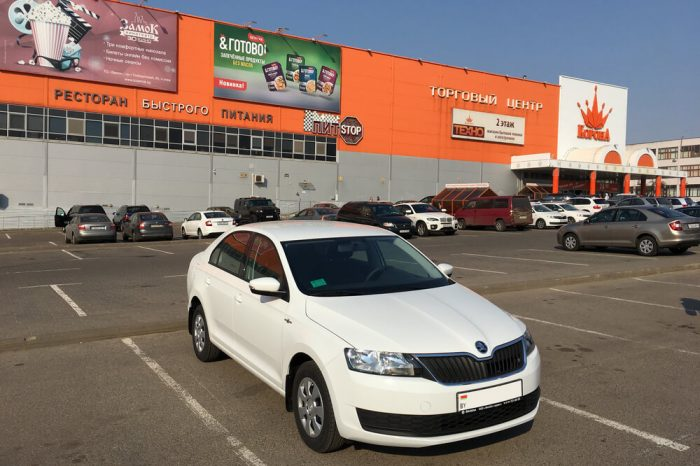 Skoda Rapid Hockey Edition (белый White)