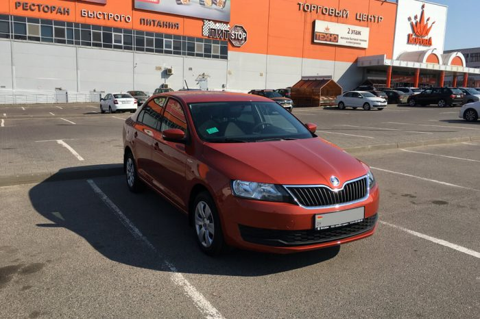 Skoda Rapid Hockey Edition (оранжевый)