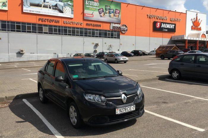 Renault Logan II черный